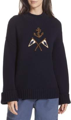 Polo Ralph Lauren Crest Logo Wool Sweater