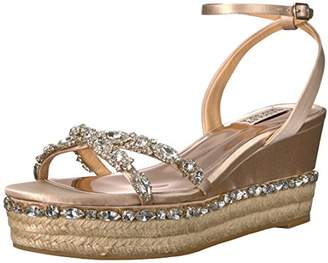Badgley Mischka Women's Silvie Espadrille Wedge Sandal