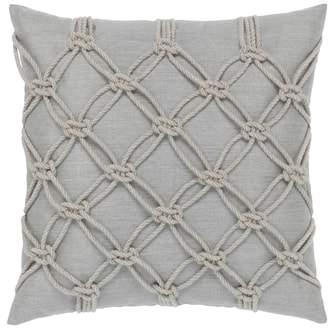 Granite Rope Indoor/Outdoor Accent Pillow