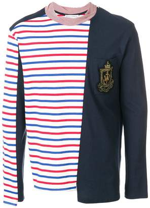 J.W.Anderson Panelled Breton Long Sleeve T-shirt