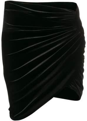 Alexandre Vauthier ruched mini skirt