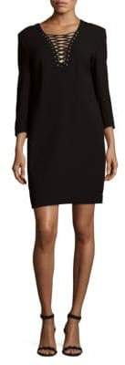 The Kooples Long Sleeve Crepe Dress