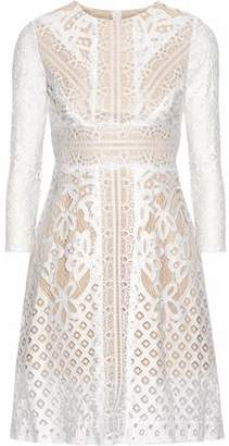 Raoul Lace Cotton Mini Dress