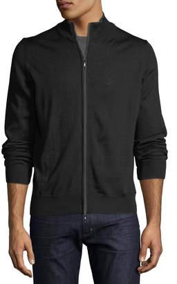 Neiman Marcus Men's Full Zip Long-Sleeve Cardigan