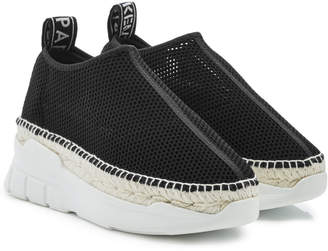 Kenzo Slip-On Espadrille Sneakers with Leather