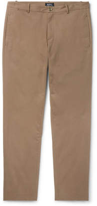 A.P.C. Cotton-Blend Twill Trousers