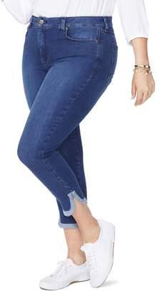NYDJ Ami Dolphin Hem Stretch Ankle Skinny Jeans