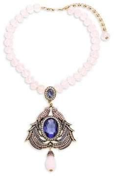 Heidi Daus Duel Birds Crystal Necklace