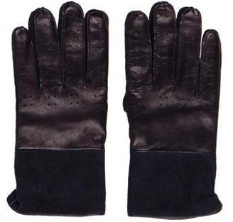 Paul Smith Perforated Leather Gloves