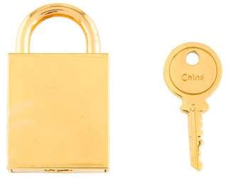 Chloé Lock & Key Bag charm