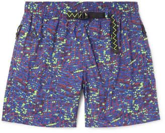 Nike Acg Printed Shell Shorts - Purple