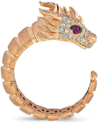 Dragon Optical Selda Jewellery Ring With White Diamonds