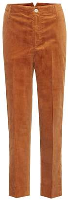 Golden Goose Cropped high-rise straight pants