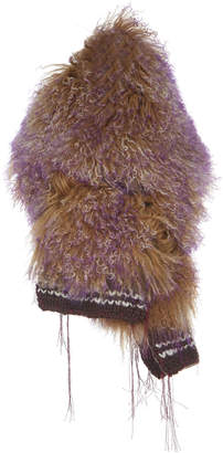 Marni Two-Tone Lamb Fur Stole