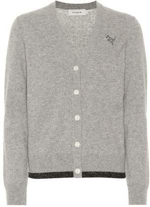 Coach Wool and cashmere cardigan