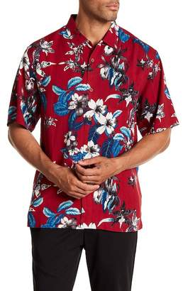 Tommy Bahama The Viner Things In Life Floral Print Original Fit Shirt