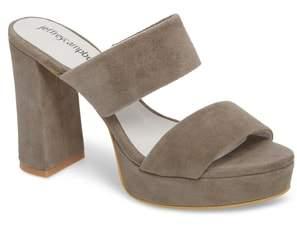 Jeffrey Campbell Adriana Double Band Platform Sandal