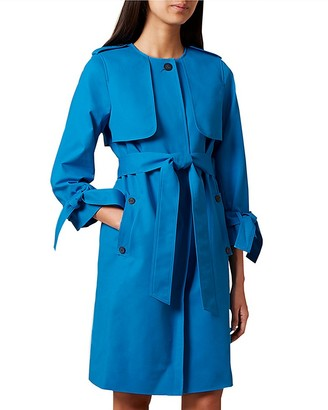 HOBBS LONDON Molly Trench Coat - 100% Exclusive $395 thestylecure.com