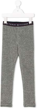 Tommy Hilfiger Junior fitted logo leggings
