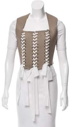 Tome Felt Wool Vest w/ Tags