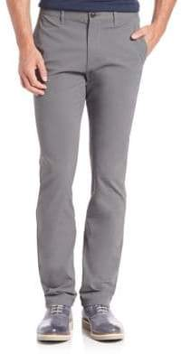 Theory Zaine Witten Flat-Front Pants