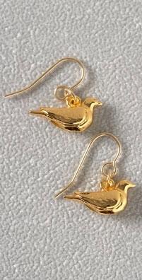 Bing Bang Turtledove Earrings