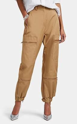 Maison Margiela Women's Cotton Twill Cargo Pants - Beige, Tan