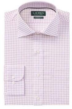 Lauren Ralph Lauren Classic-Fit Non-Iron Plaid Dress Shirt