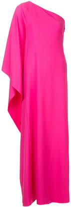 Osman long one-shoulder gown