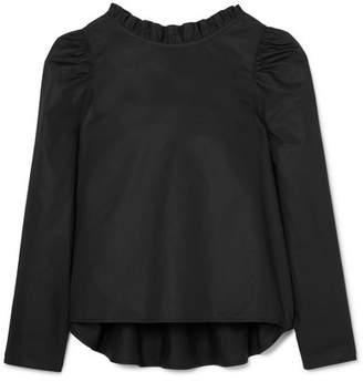 Atlantique Ascoli Enfant Ruffled Cotton-poplin Top