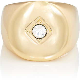 Jules Smith JULES SMITH WOMEN'S TULUM SIGNET RING $40 thestylecure.com