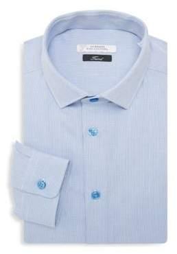 Versace Trend Fit Textured Dress Shirt