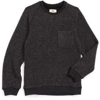 Z.A.K. Brand Raglan Pocket Sweater