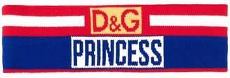 Dolce & Gabbana Princess sweat hairband