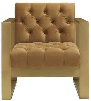 Willa Arlo Interiors Chevy Velvet Armchair