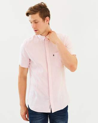 Jag Linen Short Sleeved Shirt
