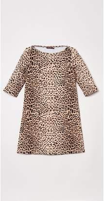 J.Mclaughlin Girls' Mari Dress in Cheetah