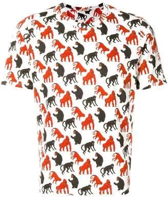 Marni monkey print T-shirt