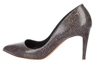 Rupert Sanderson Leather Pointed-Toe Pumps