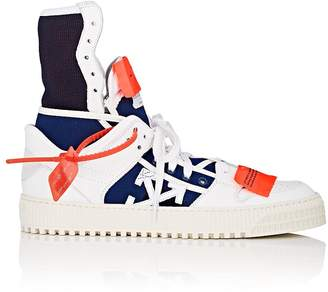 Off-White Men's 3.0 Leather & Canvas Sneakers