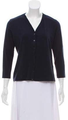 Rivamonti Long Sleeve Button Up Top