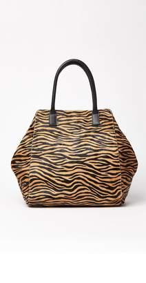 J.Mclaughlin Sienna Pony Hair Handbag in Zebra