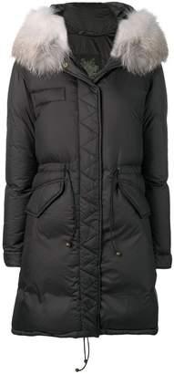 Mr & Mrs Italy fur-trim parka coat