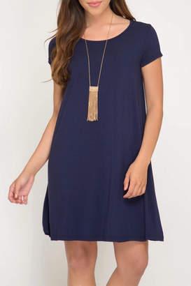 LuLu*s LuLu's Boutique Solid Knit Dress