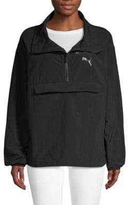 Puma Half-Zip Windbreaker Jacket