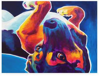 "Roxy Trademark Global DawgArt Beagle Canvas Art - 27"" x 33.5"""