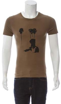 Christian Dior 2007 Short Sleeve Graphic Top
