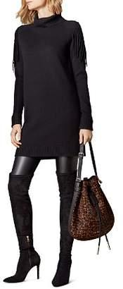 Karen Millen Fringe Detail Tunic Dress