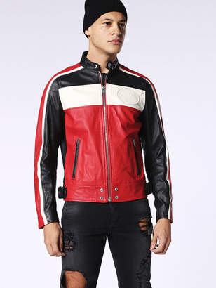 Diesel Leather jackets 0DAOI - Red - L