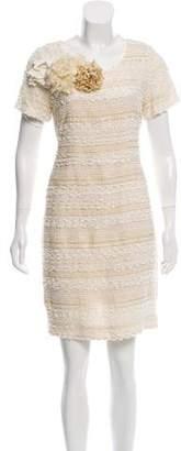 Chris Benz Patterned Mini Dress